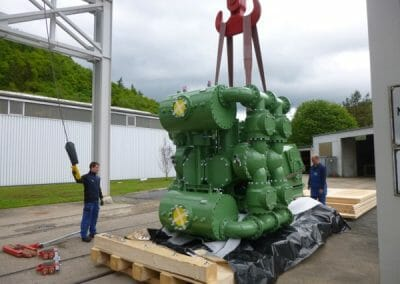 Large Piston Diaphragm Pump